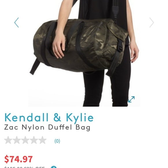 0fd69ffc93e Kendall   Kylie Bags   Kendall And Kylie Army Green Duffle Bag ...